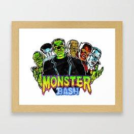 Monster Bash Framed Art Print