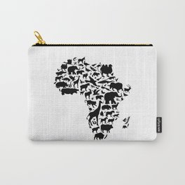 Animals of Africa Carry-All Pouch