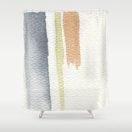 tri-color Shower Curtain