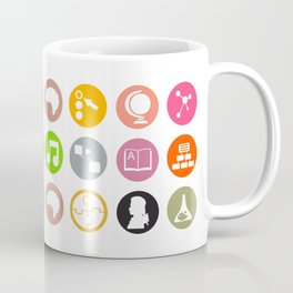 Science - Study Icons Coffee Mug