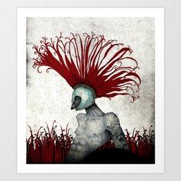Spartan. Art Print