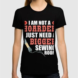 Great Costume For Sewing Lover. T-shirt