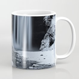 Skógafoss Waterfall Ice Coffee Mug