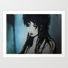 Ami Asian beauty Art Print