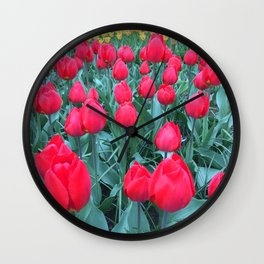 Full Bloom In Holland Wall Clock