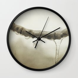 Winter Freeze Wall Clock