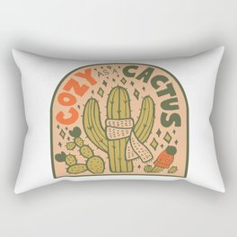 Cozy as a Cactus Rectangular Pillow