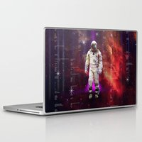 interstellar Laptop & iPad Skins featuring Interstellar by Tony Vazquez