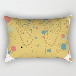 Gyan Mudra Rectangular Pillow