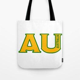 Abbreviated Australia Tote Bag