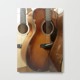 Guitar Love Metal Print