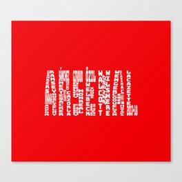 Arsenal 2017-2018 Canvas Print