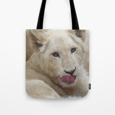 White Lion Cub - The Next Generation! Tote Bag