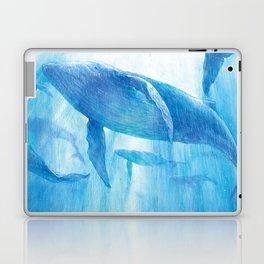 Flying in the sea Laptop & iPad Skin