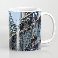 pirates Mugs featuring Pirates! by NL Designs
