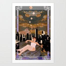 Denber Lady ver.1 Art Print