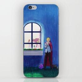 SANJI in the rain | One Piece | Print | Painting Poster | Charlotte Pudding | 817 | ANIME | MANGA #A iPhone Skin
