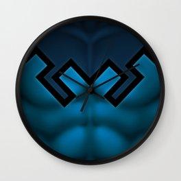 Blue Beetle: Superhero Art Wall Clock