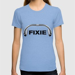 Classic Track Handlebars - Black Text T-shirt