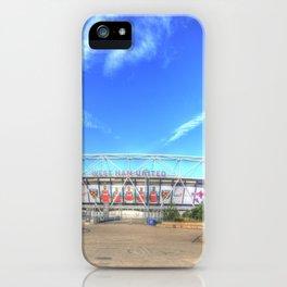 West Ham Olympic Stadium London iPhone Case