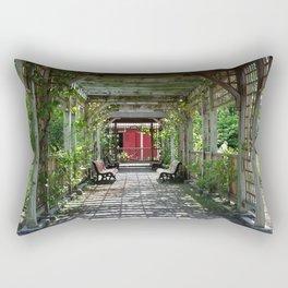 Garden Trellis Rectangular Pillow