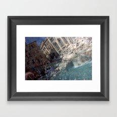 Fontana di Trevi Framed Art Print