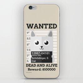 Schrödingers Cat iPhone Skin