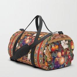 Vintage Fruit Pattern VII Duffle Bag