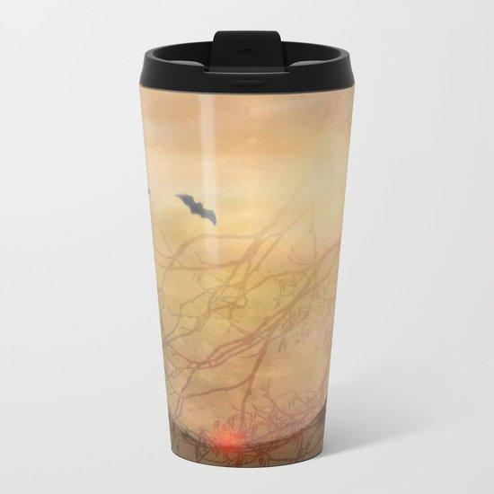 Moonlight Serenade Metal Travel Mug