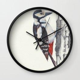 Tree Knocker Wall Clock