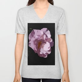 Beautiful Abstract Rose Unisex V-Neck