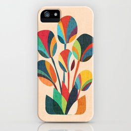 Ikebana - Geometric flower iPhone Case