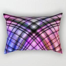 lead-glass window Rectangular Pillow