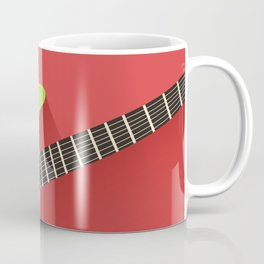 Electric Guitar Poster Coffee Mug