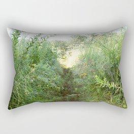 On a Fine Day Rectangular Pillow