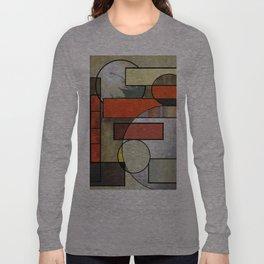 Falling Industrial Long Sleeve T-shirt
