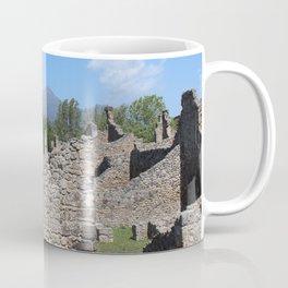 Mount Vesuvius from Pompei Coffee Mug