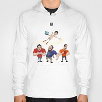 gaming Hoodies featuring Inside Gaming  by Haizeel Hashnan