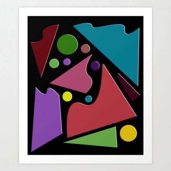 Abstract #307 Art Print