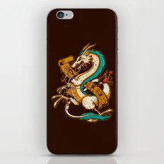 SPIRITED CREST iPhone & iPod Skin