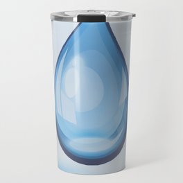 Water Drop Art Travel Mug