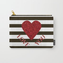 Love you Valentines day Carry-All Pouch