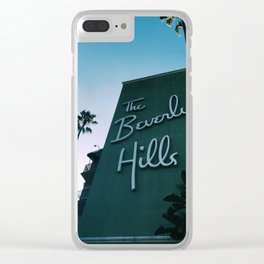Beverly Hills 90210 Clear iPhone Case