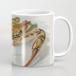 Vintage Illustration of a Crab (1889) Coffee Mug