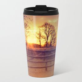 February winter morning Travel Mug