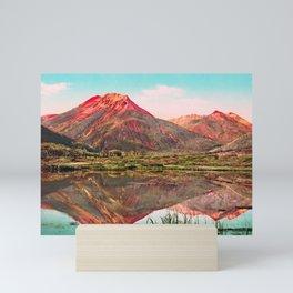 Red Mountain - Rocky Mountains - Colorado 1901 Mini Art Print