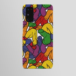 Schlong Song in Rainbow, All the Penis! Android Case