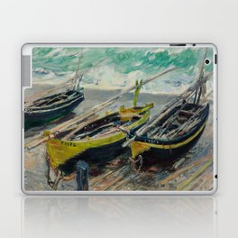 Three Fishing Boats Laptop & iPad Skin