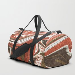 Copper marble Duffle Bag