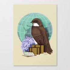 Little World Traveler Canvas Print